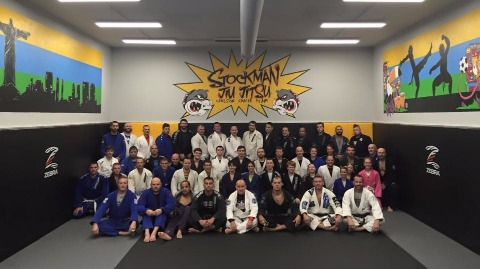 Stockman Jiu Jiysu Carlson Gracie Junior seminar