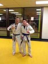 New Jiu Jitsu Blue Belt in Greenwood
